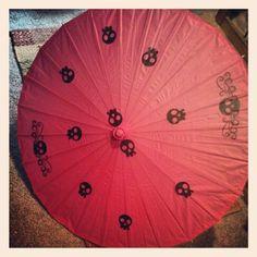 www.facebook.com/skullsandstones    #skull #umbrella