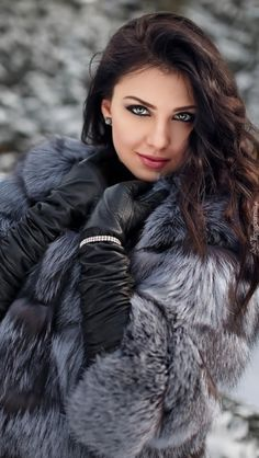Most Beautiful Share the beauty and love Most Beautiful Faces, Gorgeous Eyes, Pretty Eyes, Gorgeous Women, Luxury Girl, Brunette Beauty, Leather Gloves, Woman Face, Girl Photos