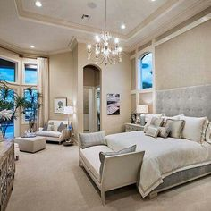 Gorgeous Bedroom In Neutral Colors♥