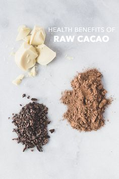 """Rich in magnesium, zinc, copper, manganese, and iron. The antioxidants in #cacao are actually more powerful than those found in acai, berries, or goji berries."""