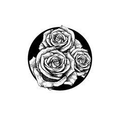 #mulpix  #tattoo  #tattodesign  #sketch  #rose  #roses  #blackink  #blacknwhite  #circle  #dot  #dots  #ink  #art