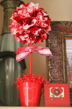 valentines day topiary