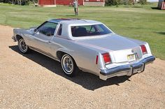 1976 Pontiac Grand Prix My sister had a 76 Grand Prix exactly like this!  It was a special edition of some type, I think.  And it was gorgeous.