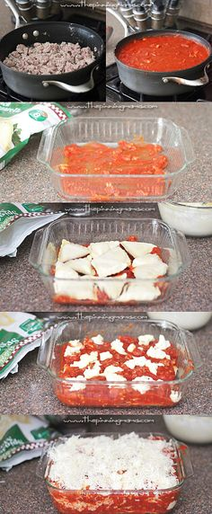 Ravioli Lasagna is so easy to make! Only 6 ingredients!! It comes together in a few steps and even the kids love it!