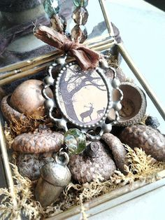 deep in the woods by woodlandjewelries on Etsy, £45.00