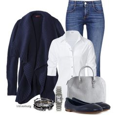 """""""No. 404 - Casual sunday"""" by hbhamburg on Polyvore"""