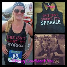 Check out this cute tank from Strong Confident YOU!  Erin wore it while running her half marathon.  Read her review on Strong Confident YOU