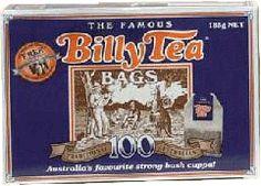 Billy Tea 100 bags. An old Australian favourite strong black tea.