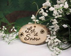 Rustic Ornament Christmas Wood