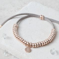 Perfect Christmas Present for my Grandma - personalised silver bracelet by bloom boutique   notonthehighstreet.com