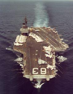 USS Kitty Hawk CV - 63   JULY 1986 THRU MARCH 1989
