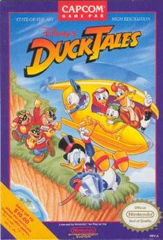 DucktalesNESCover1 - DuckTales (video game) - Wikipedia, the free encyclopedia
