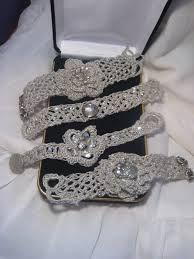 Resultado de imagem para bracelete de croche