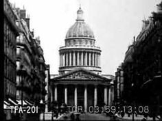 Seeing Paris #3 1920's by Burton Holmes (travelfilmarchive-youtube)
