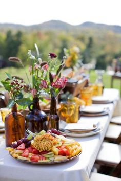 fresh and lovely tablescape
