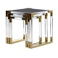 Nests of Tables Small Accent Tables, Acrylic Furniture, Occasional Tables, Modern Interiors, Furnitures, Contemporary Furniture, All Design, Shops, Traditional