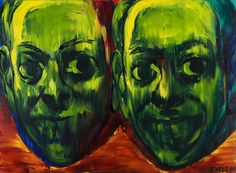 "Lubomir Typlt, ""Fuzzy Smile"", 145 x 200 cm, oil on canvas, 2007. Courtesy of the artist & Oneiro gallery."
