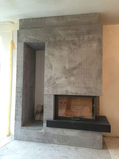 Bedroom Fireplace, Home Fireplace, Fireplace Remodel, Modern Fireplace, Living Room Tv, Home And Living, Contemporary Fireplace Designs, Bungalow Renovation, Home Decor Kitchen