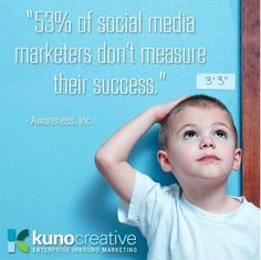 53% des marketers sur les réseaux sociaux ne mesurent pas leur succès !