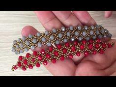 Crystal Beaded Stylish Bracelet Making - Diy Life Making Bracelets With Beads, Jewelry Making, Beaded Bracelets, Bracelet Making, Beaded Jewelry Designs, Handmade Jewelry, Handmade Wire, Bead Jewelry, Jewelry Findings
