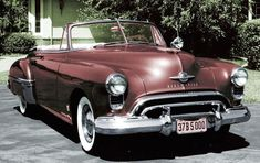 Top 100 American Collector Cars of All Time - / 1949 Oldsmobile 88 /  Hemmings Motor News