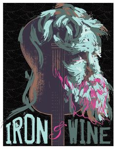iron and wine buffalo poster @Todd Stahl