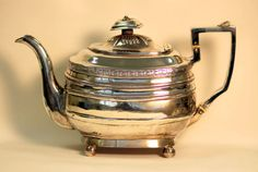 Currently at the #Catawiki auctions: Silver teapot, Exeter, 1811