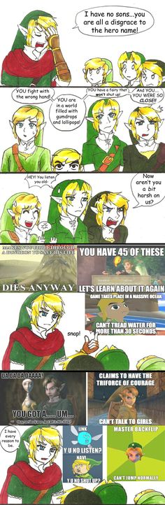 Past Hero Link is Disappoint: Part 7 by hopelessromantic721.deviantart.com on @deviantART