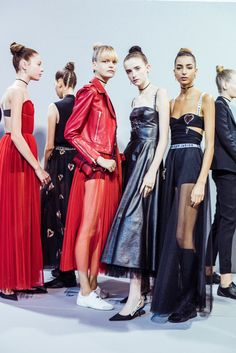 Dior ,Spring Summer 17 First collection by Maria Grazia Chiuri, first woman and second Italian designer of the maison. The collection was presented at the Musee Rodin in Paris.