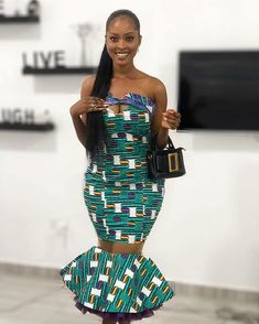 50 Pictures - Stunning Ankara Fashion Dresses We Are Currently Vibing With 17 African Wear, African Dress, African Style, African Beauty, Ankara Dress Styles, Latest Ankara Styles, Beautiful Ankara Styles, Unique Fashion, Fashion Design