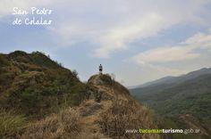 Para los amantes de la aventura San Pedro ofrece un mirador natural desde dónde observar todo el pueblo en su esplendor!  http://www.tucumanturismo.gob.ar/circuito-valle-de-choromoros/180/san-pedro-de-colalao