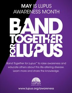 My brother has Lupus. My cousin has Lupus.. I am a lupus awareness advocate. I will have my team in the Lupus walk this year Sat May 3rd, 2014! Please support..