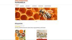 Apiliteratura - weboldala Web Design, Design Web, Website Designs, Site Design