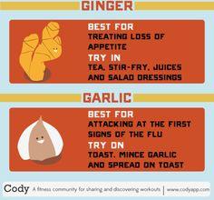 Flu-free foods!