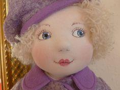 TRIXIE A rag/cloth handmade original art doll by Brenda Brightmore