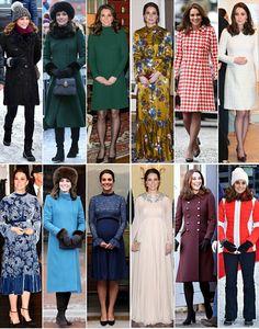 Catherine Duchess of Cambridge, recap of Royal tour Scandanavia, January 2018