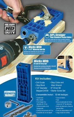 Introducing the Kreg Jig® HD - Kreg Jig Owners Community
