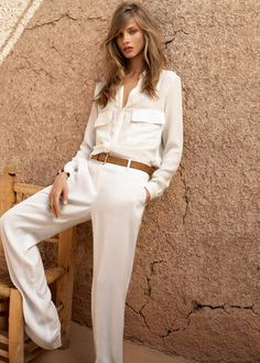 Anna Selezneva for Mango Summer 2012