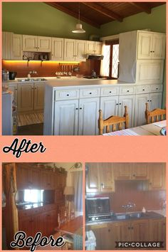 DIY Diy kitchen make over with chalk paint colors!