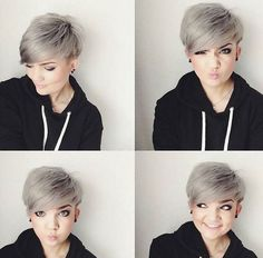 ". [ ""awesome Adorable Short Hairstyles for Girls - PoPular Haircuts - Hairstyles For You"", ""Color** Grey, Layered Pixie Cut - Short Hairstyles for Round Face Shape"", ""I like this cut, but I"