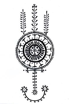 Mirelha — Croatian Tatoo by ~evgeniasamsonova Symbol Tattoos, Wolf Tattoos, Back Tattoos, New Tattoos, Body Art Tattoos, Tatoos, White Tattoos, Compass Tattoo, Arm Tattoo