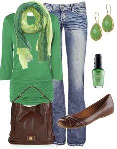 Like the purse & shoes