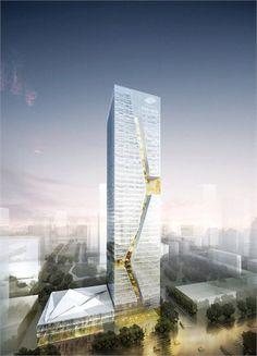 Guosen Securities Tower - Shenzhen, China - 2010 I Studio Fuksas
