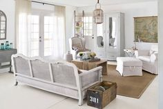 16 Simple, Lovely Ideas for White Rooms | Wall wood, Country living ...