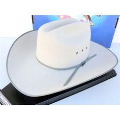9ab03bda308 Resistol Cowboy Hat 4X Beaver Fur Felt Chrome The Legend Ty Murray Resistol  Cowboy Hats