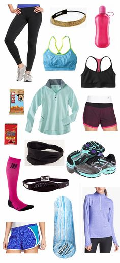 Running essentials.    Visit www.thatdiary.com/ for more tips   advice on health and fitness #health #fitness