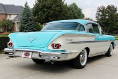1958 Chevrolet Bel Air Maintenance/restoration of old/vintage vehicles: the material for new cogs/casters/gears/pads could be cast polyamide which I (Cast polyamide) can produce. My contact: tatjana.alic@windowslive.com