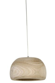 Hanglamp Ø31x17,5 cm SIBA hout