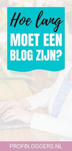 Moet een blog lang of juist kort zijn? Hoeveel woorden moet een blog zijn? Lees deze blog en ontdek wat de beste lengte is voor jouw zakelijke blog.