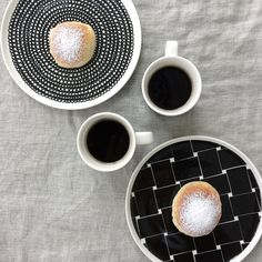 Coffee for two. Coffee lovers. Marimekko. Finnish design. Living. Interior decor. Tableware. By Johanna Sandberg.